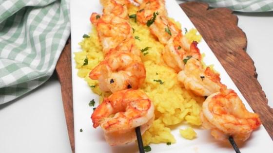 Spicy Garlic Grilled Shrimp